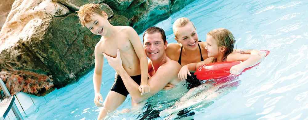 Aquadome Lalandia i Billund