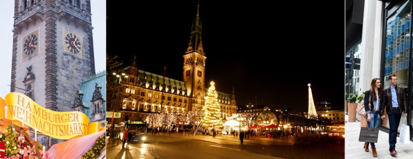 Julmarknader i Hamburg