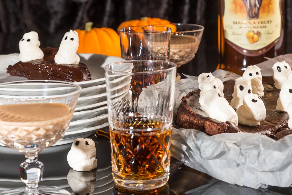 Marängspöken - Halloweenrecept