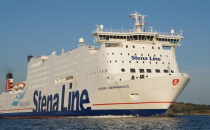 Stena Germanica From The Prow
