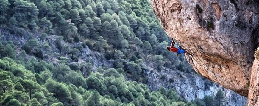 Said klättrar i Frankrike