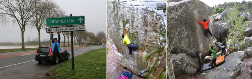 Bouldering Fontainebleau