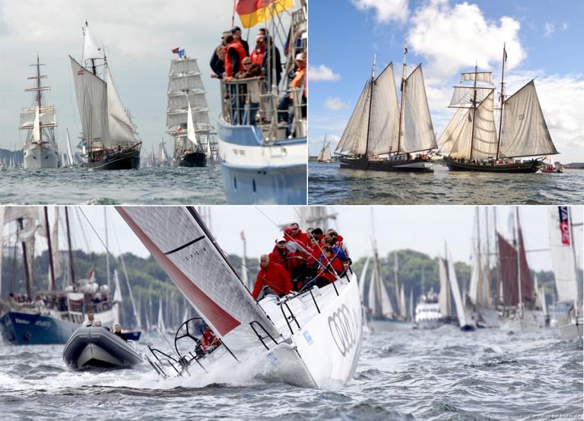 Kieler Woche & Windjammer Parade