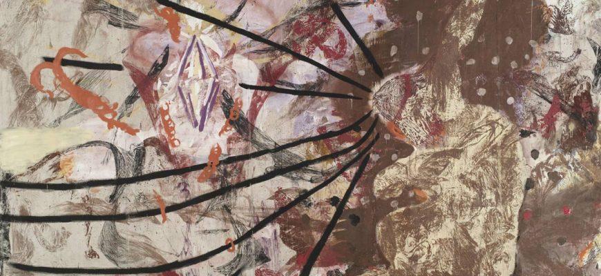 Julian Schnabel Aktion Paintings
