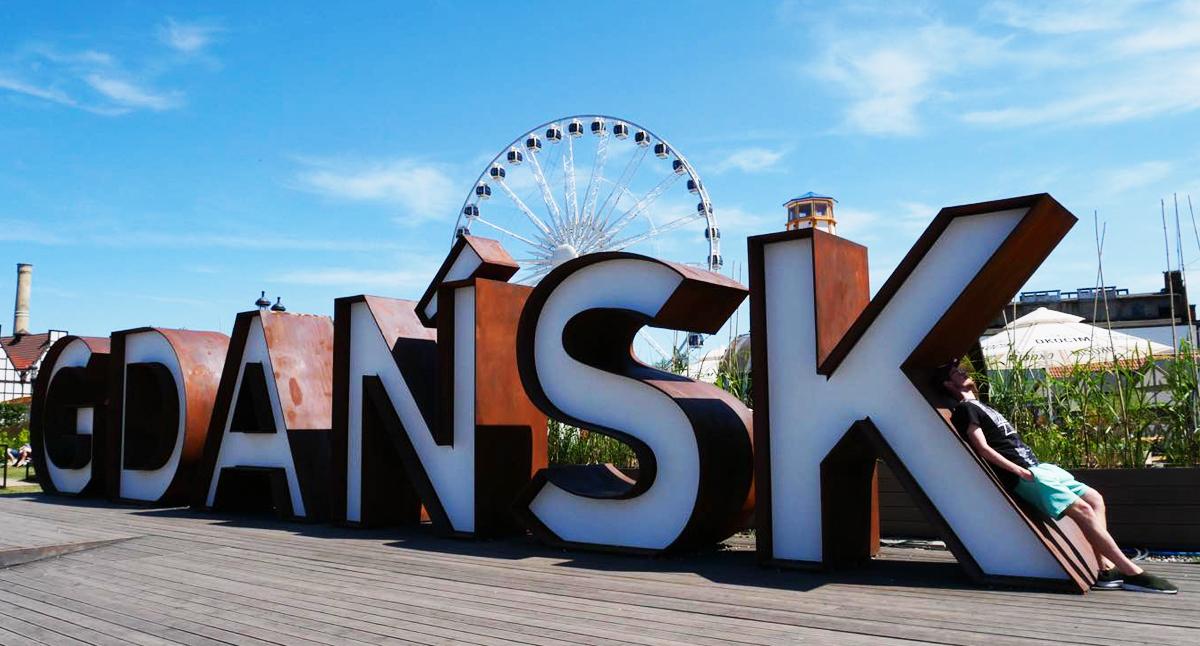 Gdansk-skylten