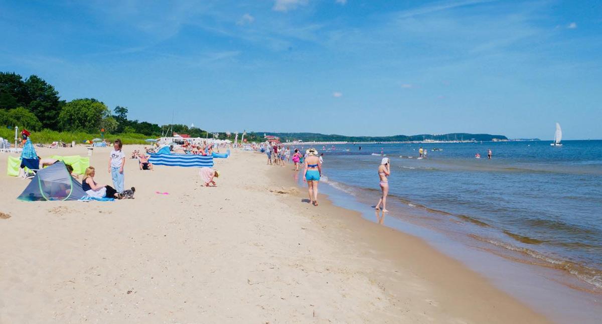 Stranden i Sopot