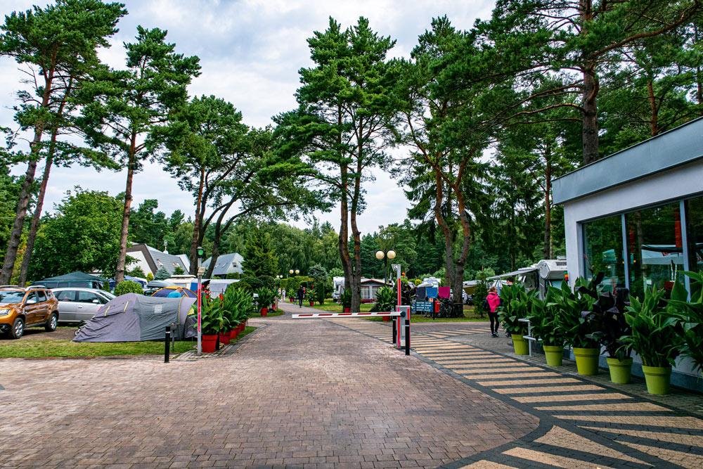 I Leba finns många campingplatser att välja på. Flera av dem håller riktigt bra klass.
