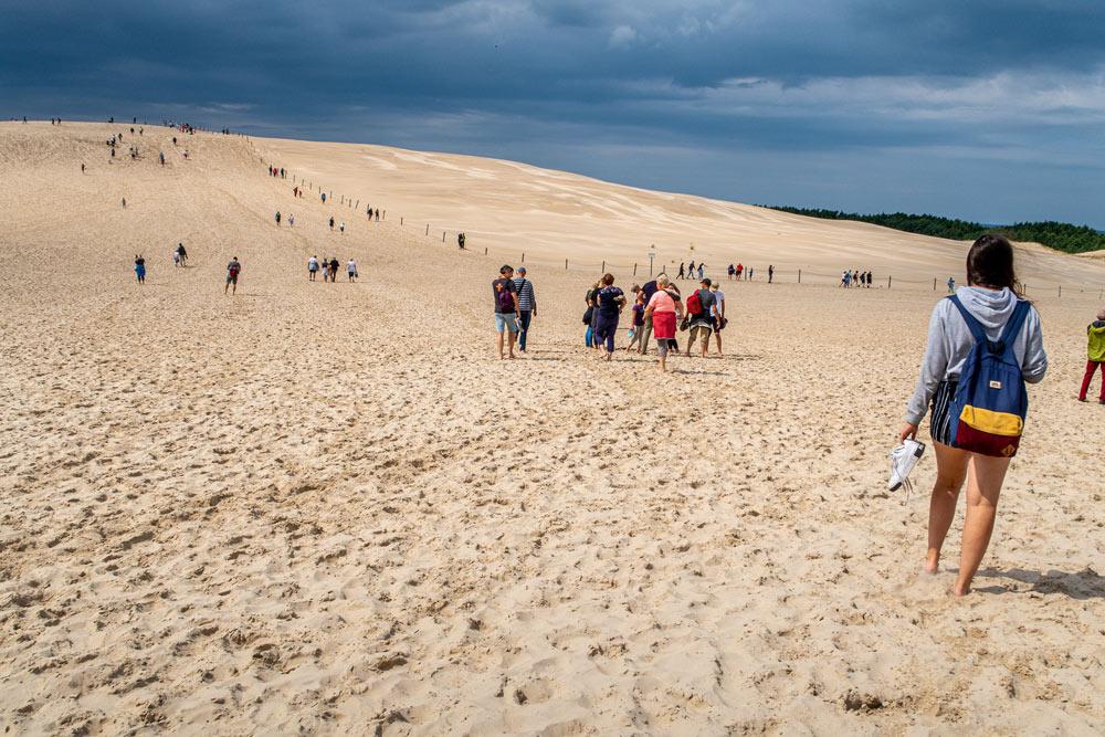 Sanddynorna utanför Leba kallas för Polens sahara.