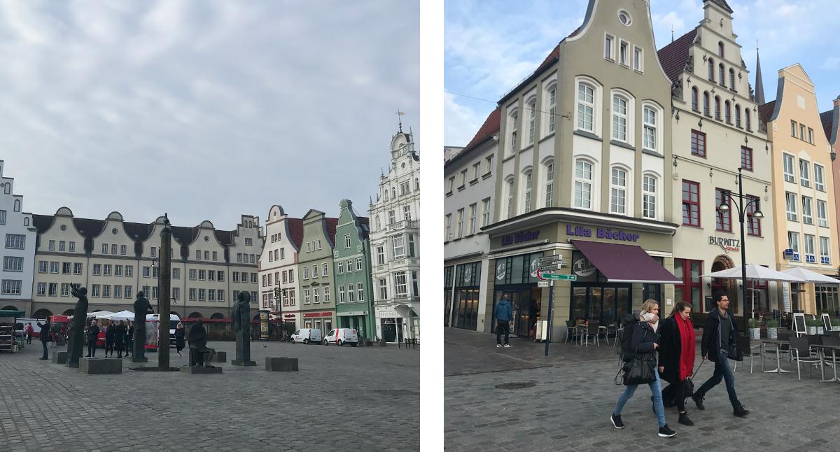 Rostock stora torget