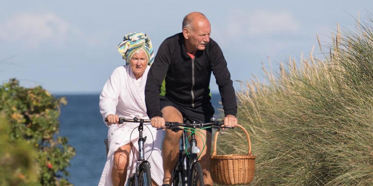 Med cykel kan man enkelt nå alla spännande platser i Fredrikshamn. Foto: Turisthus Nord