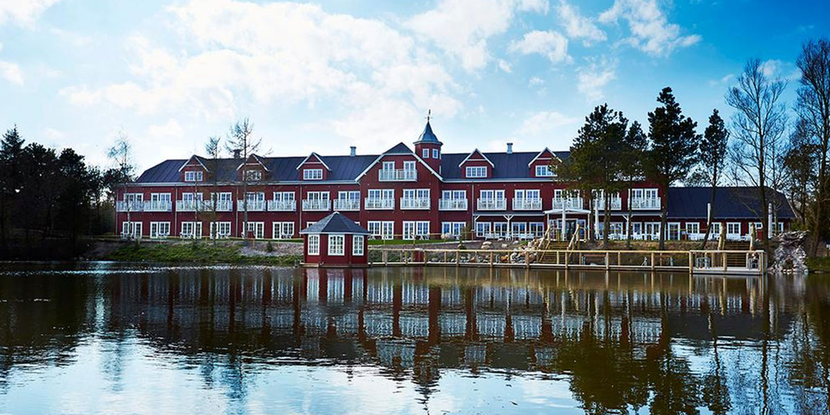Hotel Fårup – en oas mitt i parken.