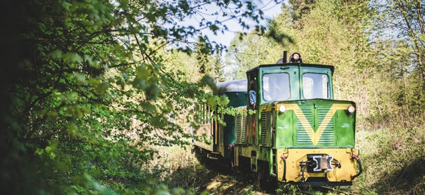 EŁK Narrow Gauge-tåget