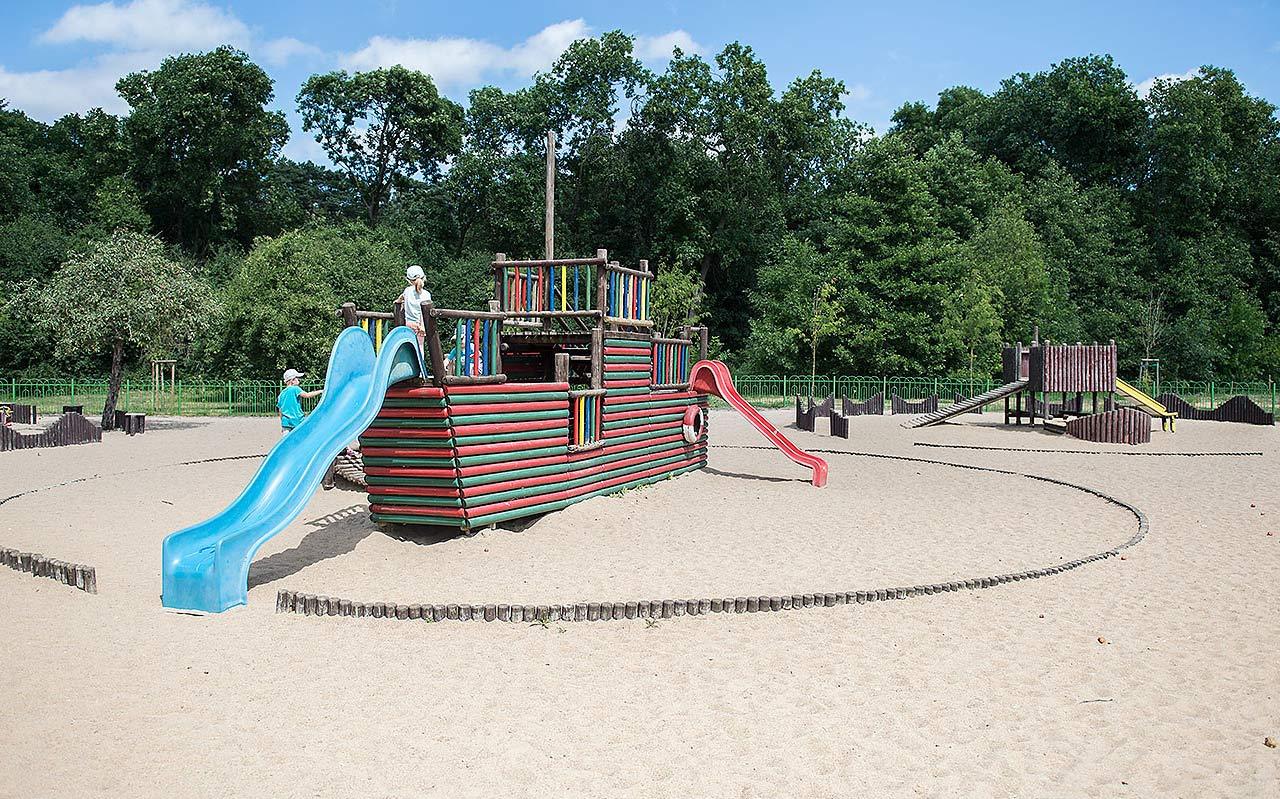 Lekplats i Polen