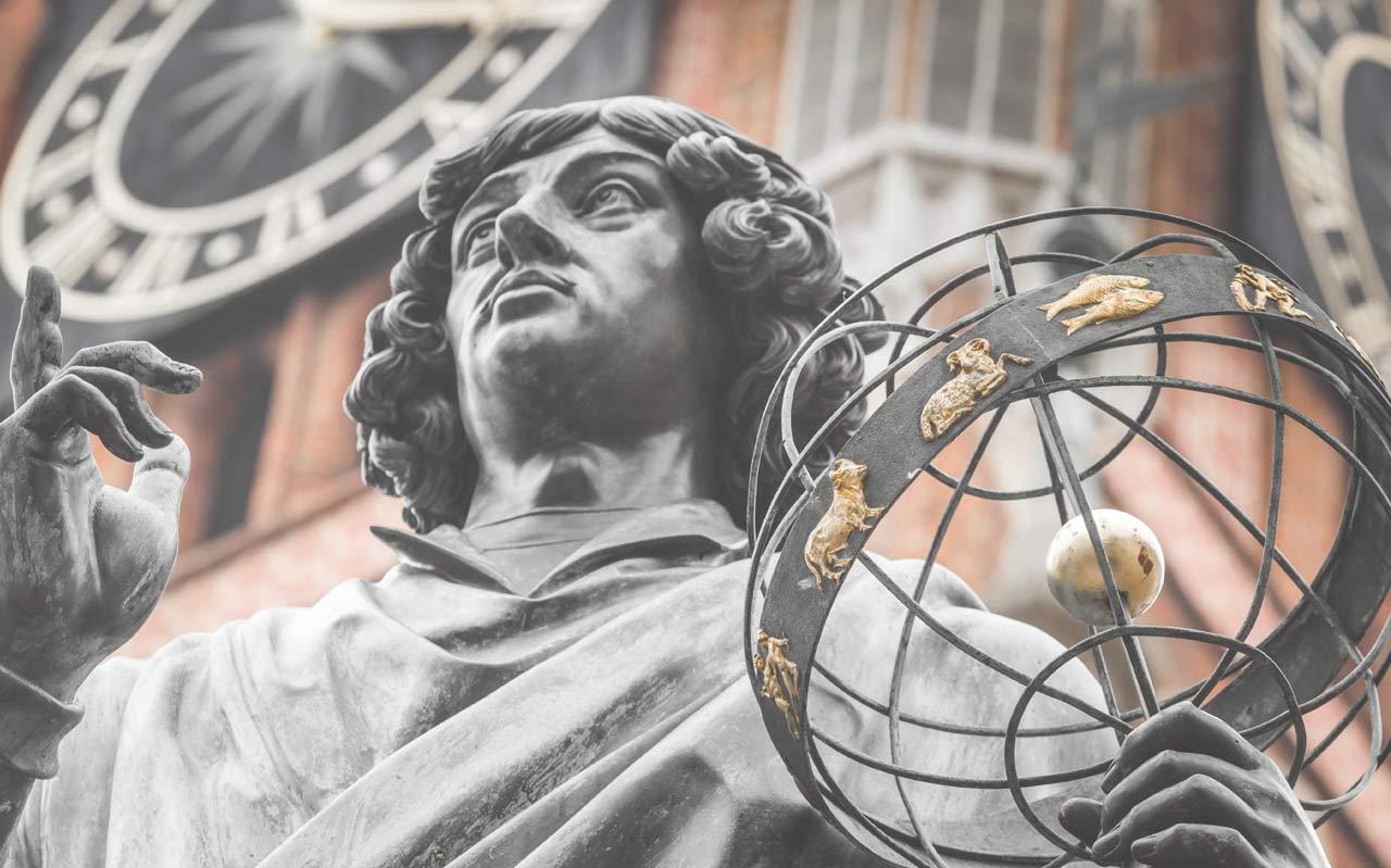 Staty i polska staden Torun